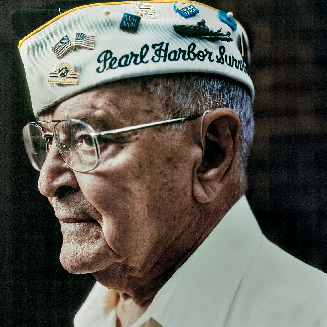 Pearl Harbor Survivor Jay Groff